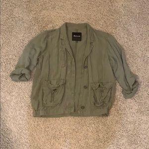 Madewell army jacket
